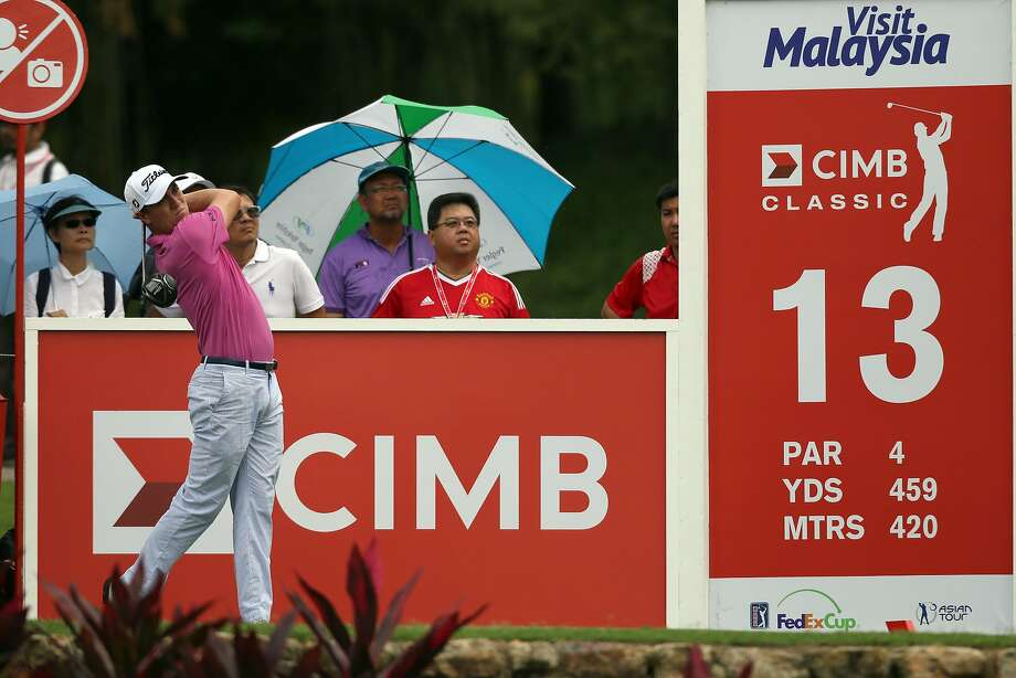 KUALA LUMPUR, MALAYSIA - OCTOBER 12:  Justin Thomas of the United States in action during round one of the 2017 CIMB Classic at TPC Kuala Lumpur on October 12, 2017 in Kuala Lumpur, Malaysia.  (Photo by Stanley Chou/Getty Images) Photo: Stanley Chou, Getty Images