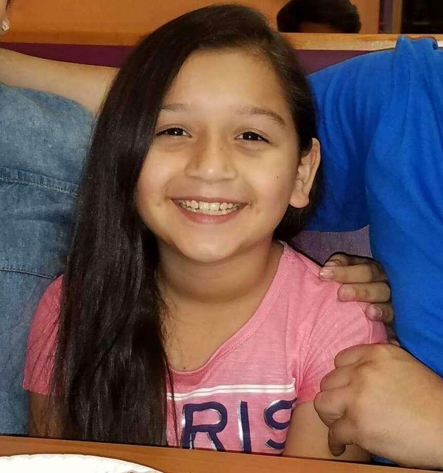 Belinda Muñiz, una estudiante de 8 años de edad de Laredo, falleció en un accidente el martes y de junio. Photo: Cortesía