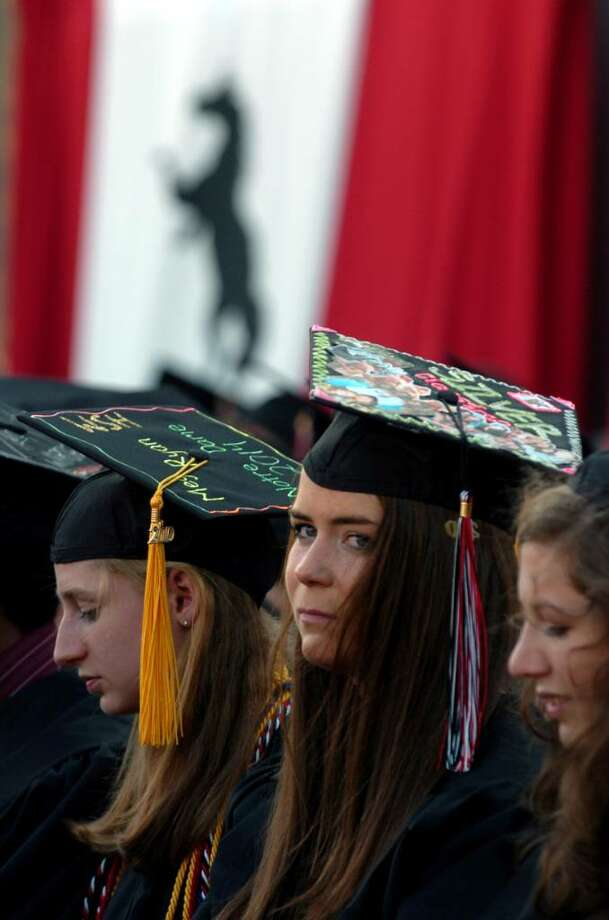 Highlights from Fairfield Warde's 6th Annual Commencement Exercises in Fairfield, Conn. on Thursday June 24, 2010. Photo: Christian Abraham / Connecticut Post