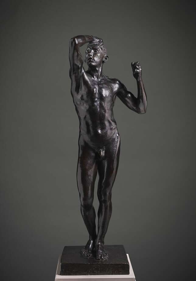 "Auguste Rodin, ""Age of Bronze (L'Age d'Airain)"" (ca. 1875-77) Photo: Fine Arts Museums Of San Francisco"