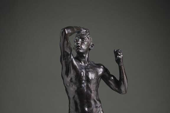 """Auguste Rodin, """"Age of Bronze (L'Age d'Airain)"""" (ca. 1875-77)"""