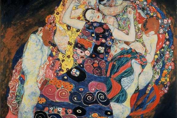 """Gustav Klimt, """"The Virgin"""" (1913)"""