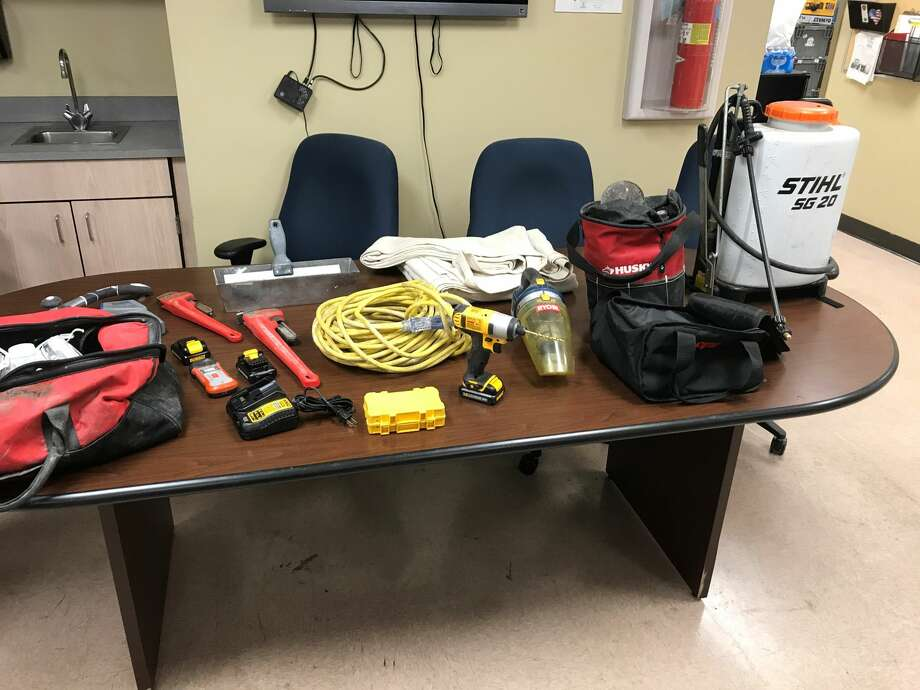 San Antonio police said Thursday Oct. 12, 2017 they have recovered $15,000 in stolen property that was to be sold online. Photo: Jacob Beltran