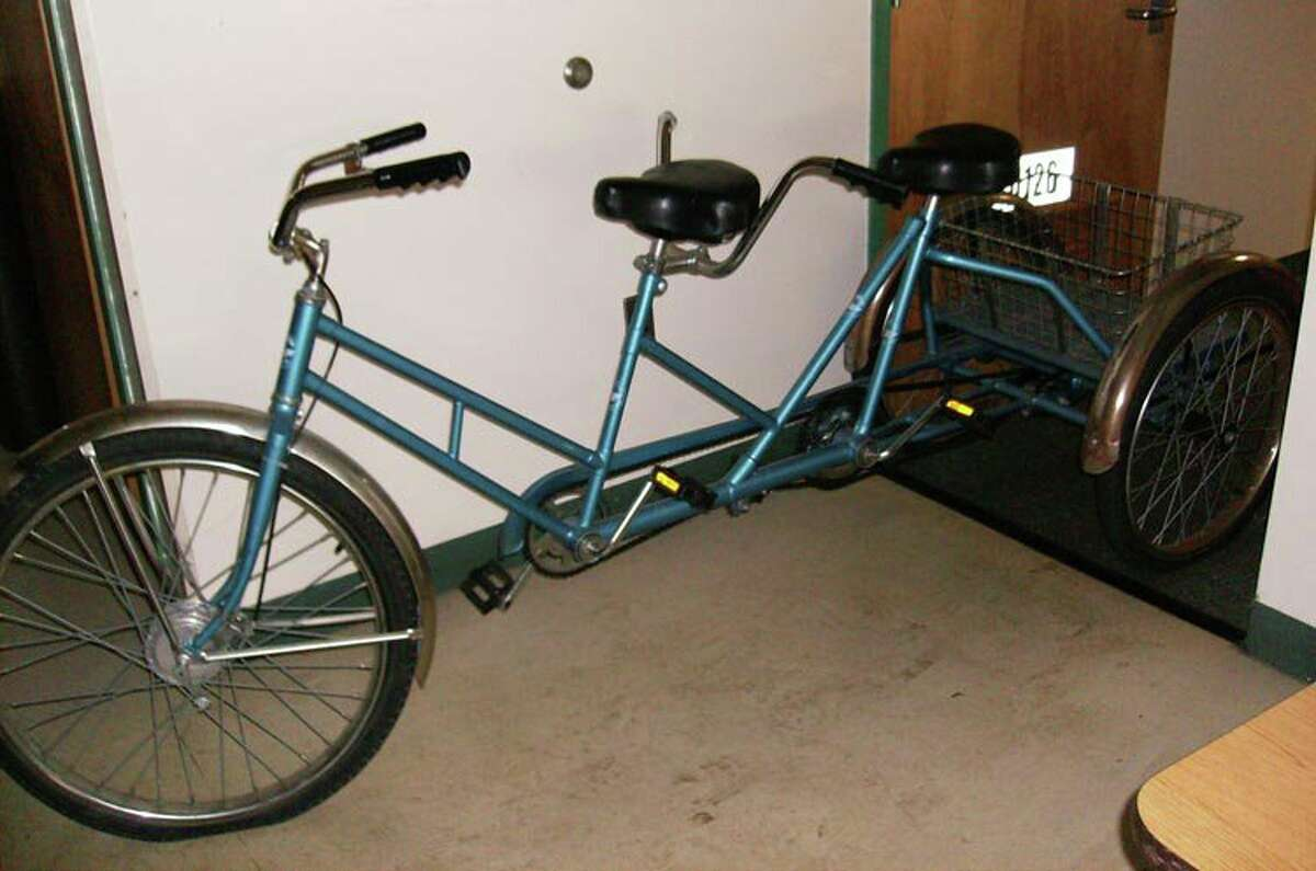 Workman Cycles bicycle built for two: The state of New York sure knows how to bring people together. This tandem bike (basket included!) sold for$331.50 on Oct. 12, 2017. The question is: What in the world did the state buy it for?