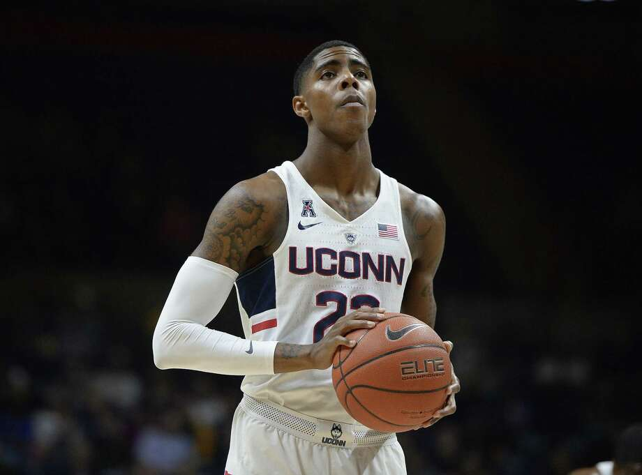 Terry Larrier is back after a lengthy rehab regimen and ready to help lead the Huskies try to bounce back from last year's injury-riddled season. Photo: File Photo /The Associated Press / AP / AP2016