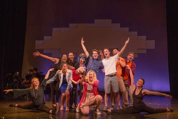 """The cast of """"South of Market: the Musical v2""""�takes a selfie."""