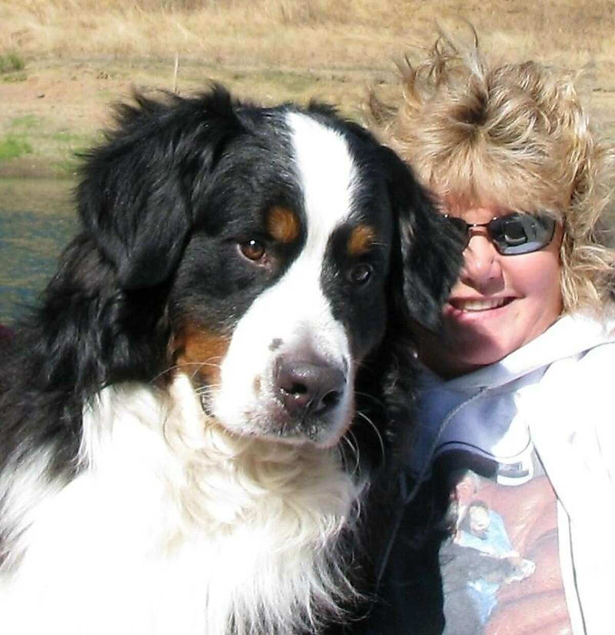 Patti Meyer breeds Bernese Mountain dogs as a hobby and also had two miniature dachsunds. One dog, AnnaBelle had a litter of four 4-week-old puppies. The 12 dogs were left behind as she was hastily evacuated from her Kenwood home on Sunday night.