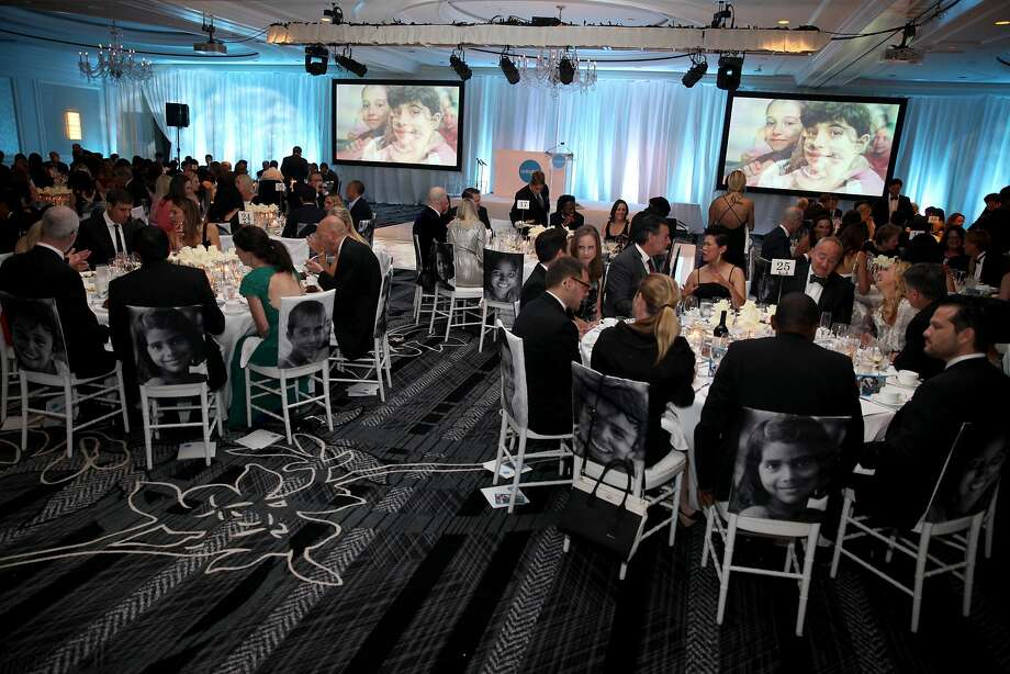 UNICEF held its first San Francisco gala Oct. 7, 2017, at the Ritz-Carlton Hotel. Photo: Kelly Sullivan�/ Getty Images For UNICEF USA, Getty Images For UNICEF USA