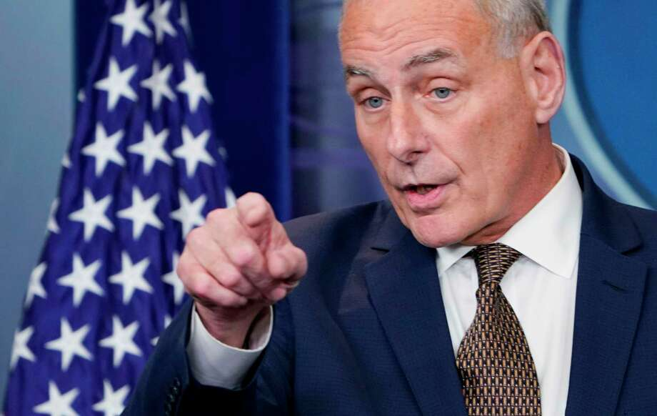 White House Chief of Staff John Kelly on Thursday said that he is not planning to resign his post and that his job is not to rein in the president. Photo: MANDEL NGAN, Contributor / AFP or licensors