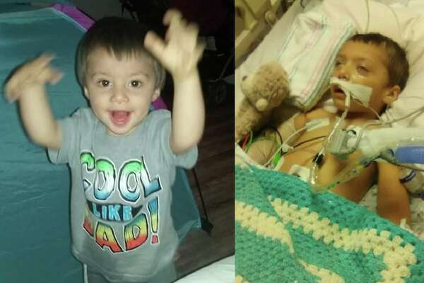 Two-year-old Thomas Sullivan was placed in a child intensive care unit with several injuries in September along wtih his 3-year-old sister, Amery Sullivan. Thomas could be in a vegetative state for the rest of his life, according to his aunt. Adam Lee Thomas, 28, and Denise Rae Watson, 26, are each facing life in prison for their alleged involvment in the abuse.