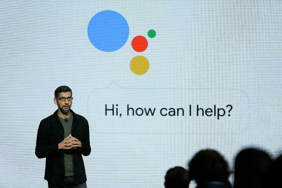 FILE - In this Tuesday, Oct. 4, 2016, file photo, Google CEO Sundar Pichai talks about the new Google Assistant during a product event in San Francisco. Target is jumping into voice-activated shopping as it deepens its relationship with Google, offering thousands of items found in the store except for perishables like fruit and milk. The move is happening as Google says shopping will be available later in 2017 through Google Assistant on iPhone and Android phones, joining its Google Home device and Android TV. (AP Photo/Eric Risberg, File) ORG XMIT: NYBZ442 Photo: Eric Risberg / Copyright 2016 The Associated Press. All rights reserved.