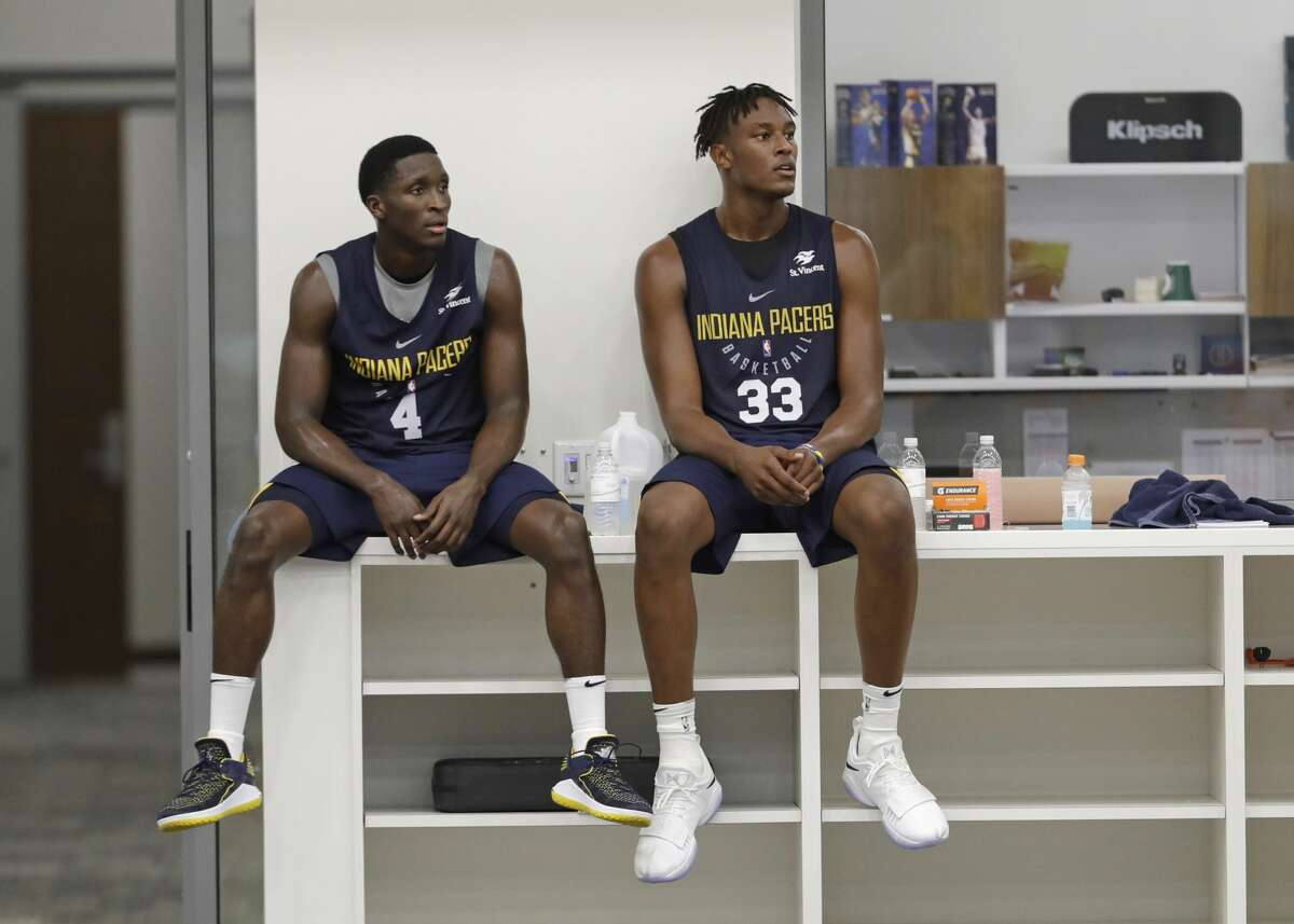 29. Pacers Last season: 42-40, lost in the first round Key additions: Bojan Bogdanovic, Cory Joseph, Darren Collison, T.J. Leaf On guards: The Pacers traded Paul George for Victor Oladipo (and Domantas Sabonis) as if he were a star. He will get his chance to live up to that. Collison, Joseph and even Lance Stephenson are options at the point. Overall: The Pacers changed directions to begin a tough rebuilding, making sure they did not get too much back for George to interfere with the plan, or even a pick to make it easier. Myles Turner will have to continue to grow into a star role. Oladipo will have to live up to that promise. A slimmed down Al Jefferson might help more than last season, but the injury to Glenn Robinson III hurts.