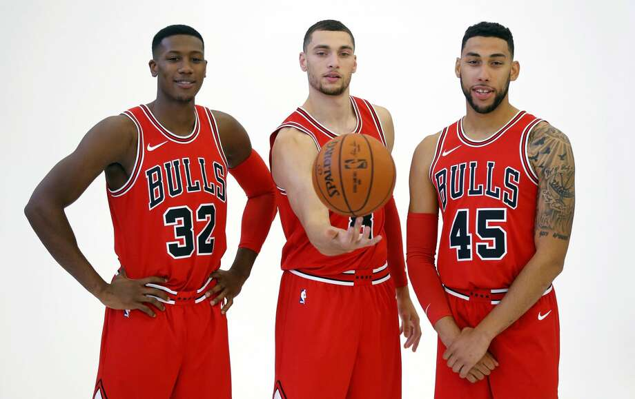 30. BullsLast season: 41-41, lost in the first roundKey additions: Zach LaVine, Kris Dunn, Lauri Markkanen, Justin Holliday, David NwabaOn guards: When Lavine returns, the Bulls have their shooting guard. Until then, Denzel Valentine shows promise. Dunn and Cameron Payne will have to man the point.Overall: The Bulls did not want Dwyane Wade to have to go through this. They also did not want to win needlessly, and bought him out to move on. They'll need Nikola Mirotic and Markkanen to provide shooting and Valentine with young forwards Bobby Portis, Paul Zipser to step up. Photo: Charles Rex Arbogast/Associated Press