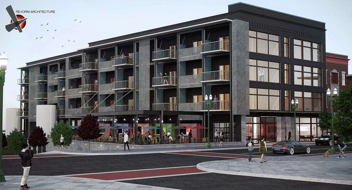 Rendering of 126 State Street in Schenectady, N.Y. (Re4orm Architectural)