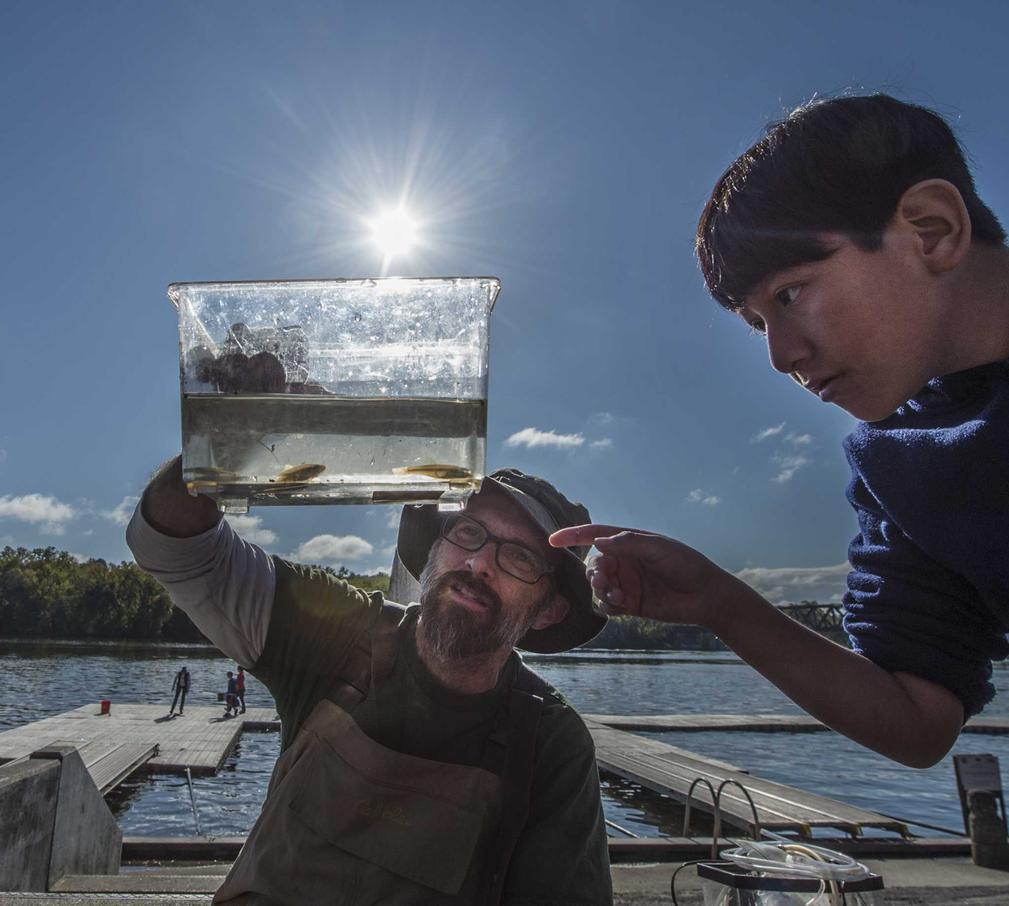 Photos: Students Are 'scientists For The Day' On The