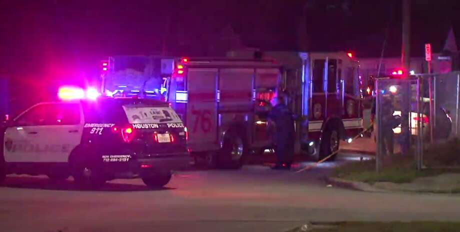A man was injured early Friday after a possible drive-by shooting in the Third Ward. (Metro Video) Photo: Metro Video