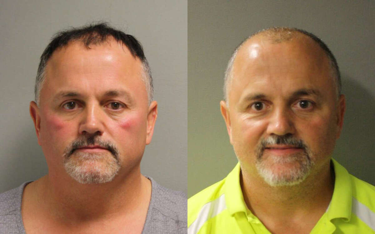 Tony Bunch was arrested for a second time this year as part of prostitution stings. His first mugshot from February is on the left and the one from October is on the right. Swipe through to see mugshots of the other men and women arrested in the latest Harris County prostitution sting.