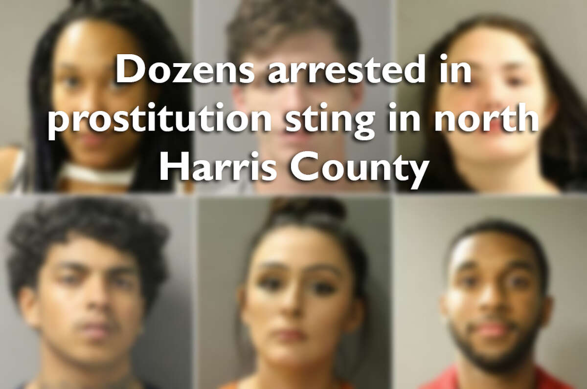 Swipe through to see mugshots of the other men and women arrested in the latest Harris County prostitution sting.