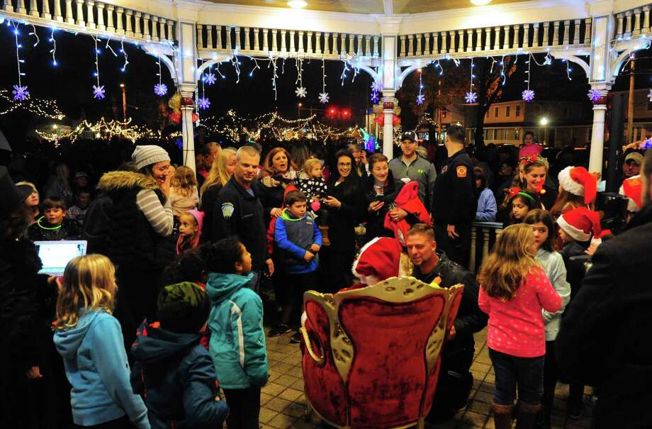 The City of Milford's 2016 Festival of Lights & Tree Lighting in downtown Milford, Conn. on Friday Nov. 25, 2016. File photo. Photo: Christian Abraham / Christian Abraham / Connecticut Post