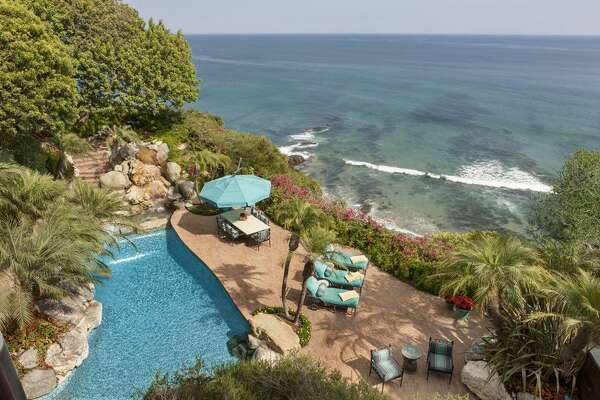 A photo of Johnny Carson's former home in the 6900 block of Wildlife Road in Malibu, Calif. The legendary late night host's ex-pad is now on the market for $81.5 million.