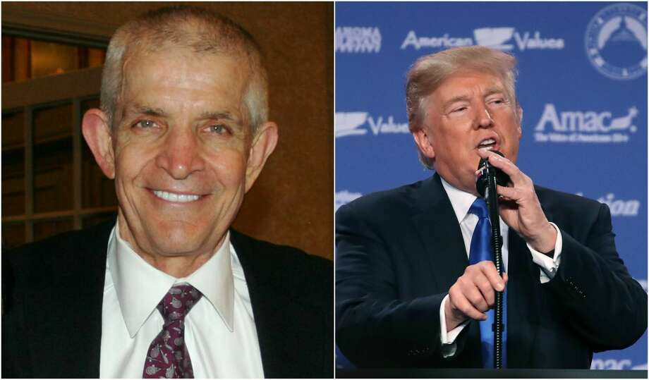 """During remarks Friday morning at the annual Values Voter Summit in Washington, D.C. President Donald Trump lauded Houston's Jim """"Mattress Mack"""" McIngvale for his work in the wake of Hurricane Harvey.See more photos from the aftermath of Hurricane Harvey... Photo: Houston Chronicle / Getty Images"""