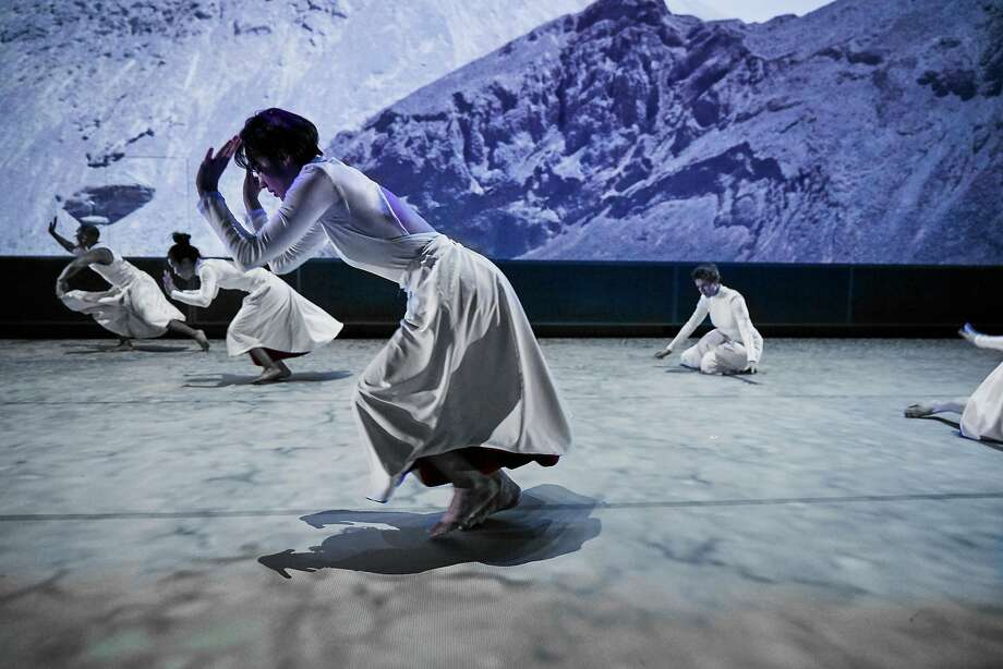 """Skies Calling Skies Falling"" premiered at the Margaret Jenkins Dance Company's season opener. Photo: Tom Kubik"