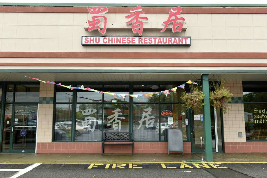 Exterior of Shu Chinese Restaurant on Monday, Oct. 9, 2017 in Guilderland, N.Y. (Lori Van Buren / Times Union) Photo: Lori Van Buren / 20041759A