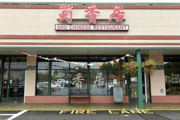 Exterior of Shu Chinese Restaurant on Monday, Oct. 9, 2017 in Guilderland, N.Y. (Lori Van Buren / Times Union)