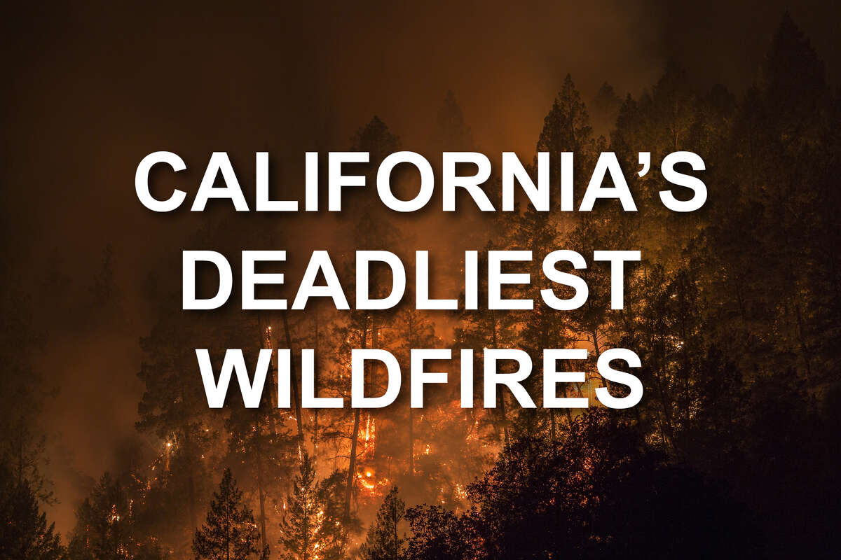 California's Deadliest Wildfires