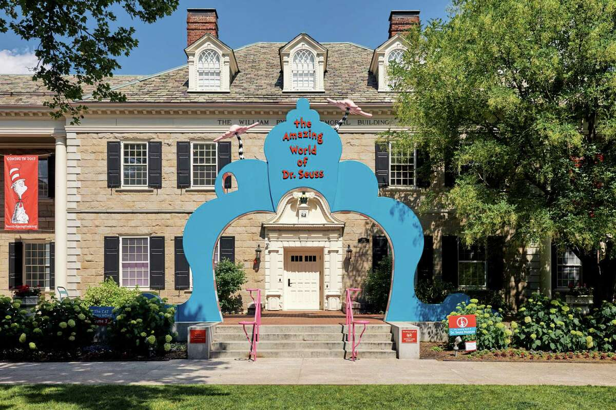FILE -- The Amazing World of Dr. Seuss Museum in Springfield, Mass., June 20, 2017. The museum has agreed to replace a mural showing a Chinese character with chopsticks, slanted eyes and a pointed hat after three authors said the depiction was racist and refused to attend a museum book festival Oct. 14 in protest. (Tony Luong/The New York Times) ORG XMIT: XNYT103