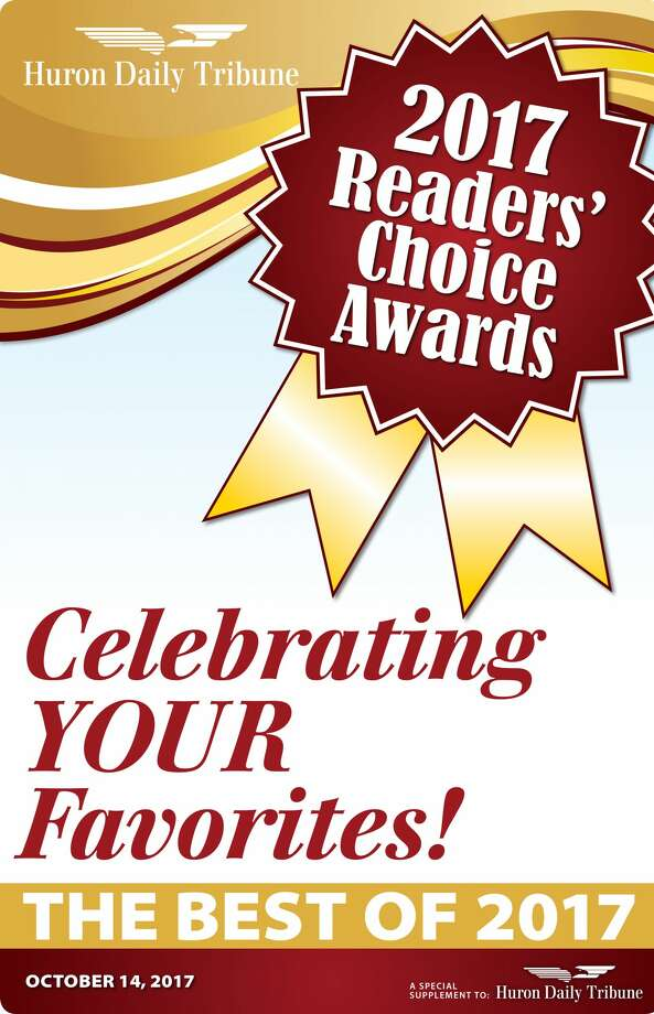 These are the results of the 2017 Readers' Choice Contest. Photo: Huron Daily Tribune
