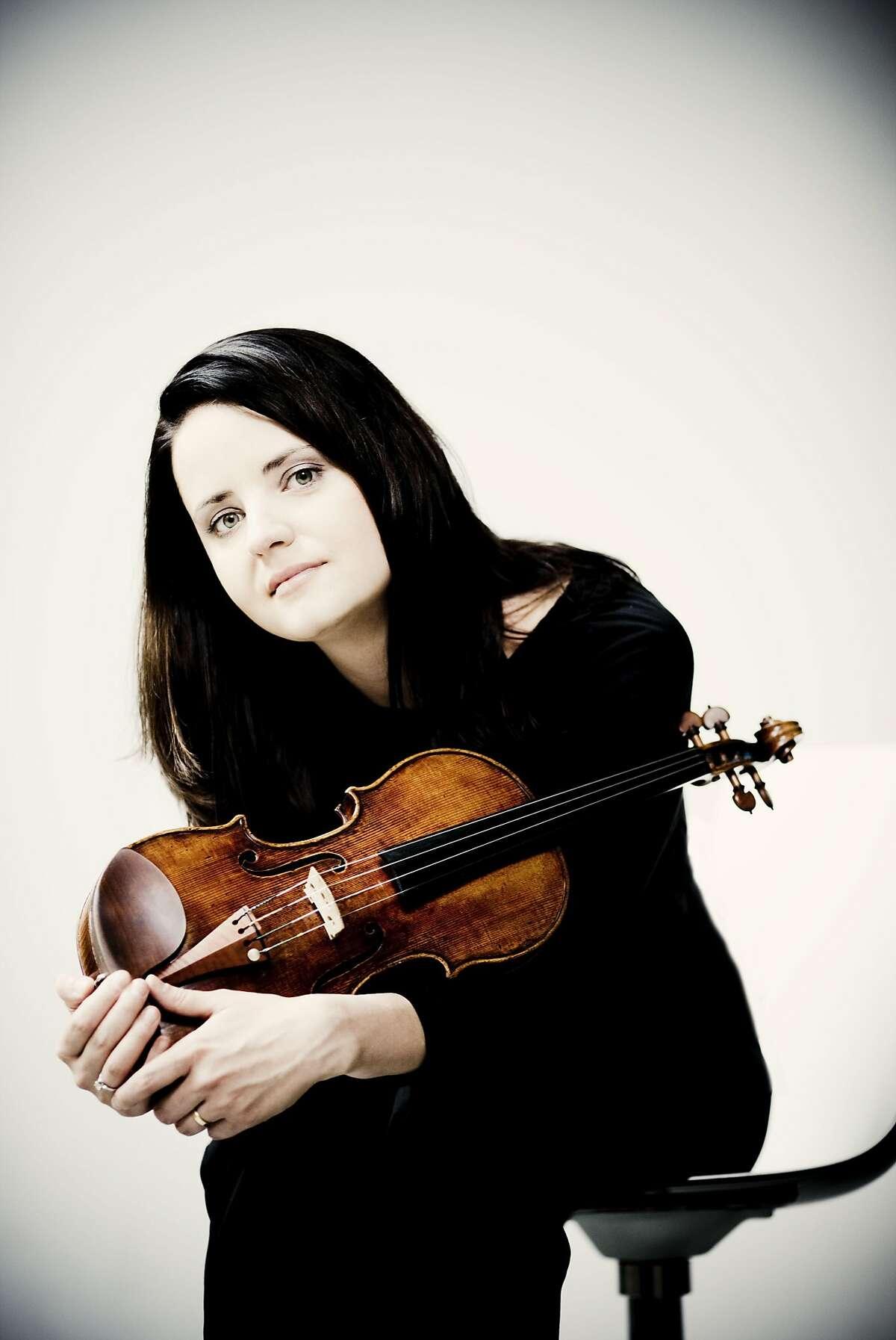 Violinist Baiba Skride performs with the San Francisco Symphony Thursday-Saturday