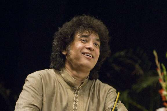 Tabla virtuoso Zakir Hussain leads his Crosscurrents ensemble, featuring prominent jazz and Indian musicians, at SFJAZZ on Friday-Sunday, Oct. 20-22.