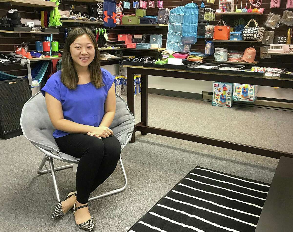 Owner Anita Chu in her new store, Anita Shop, a new boutique on Main Street in Danbury, Conn., on Friday, Oct. 13, 2017.