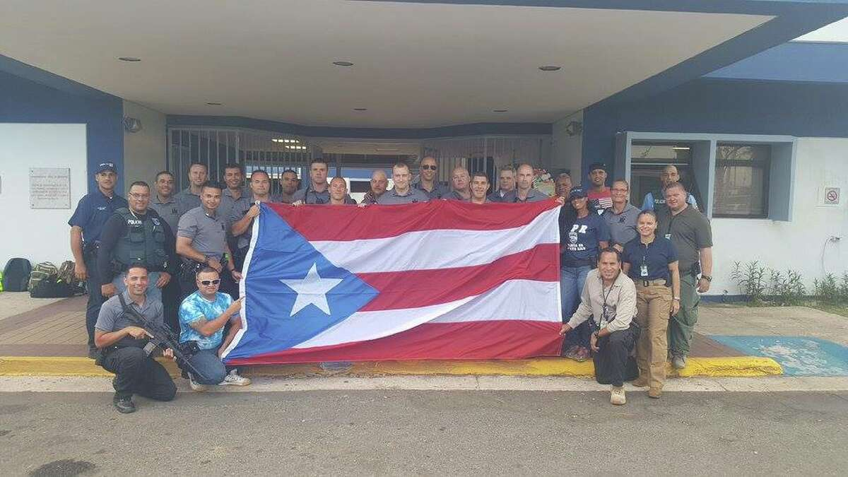 Fifty-three troopers arrived in Puerto Rico on Friday, Sept. 29, 2017, to assist with law enforcement and humanitarian aid efforts as the U.S. territory recovers from the devastation of Hurricane Maria.