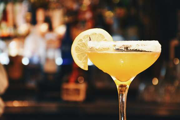 "Damian's Cucina Italiana is launching happy hour for the first time in 34 years. The new ""aperitivo"" happy hour begins Oct. 16 and runs weekdays from 4 to 6:30 p.m. with a lite bites menu and specialty cocktails. Shown: Vesper martini."