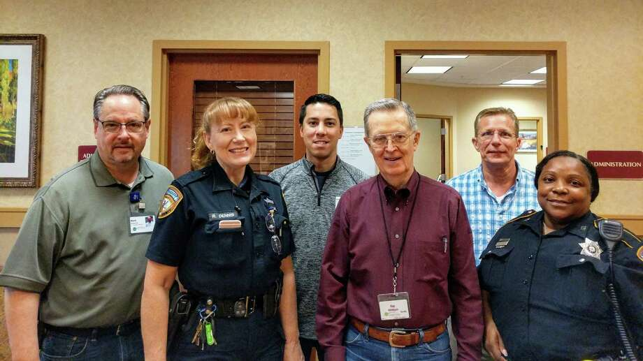 Partnerships with local authorities, including the Harris County Sheriff's Office, were invaluable for campus leadership at Eagle's Trace during Hurricane Harvey. Photo: Courtesy Of Eagle's Trace