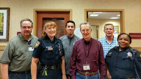 Partnerships with local authorities, including the Harris County Sheriff's Office, were invaluable for campus leadership at Eagle's Trace during Hurricane Harvey.