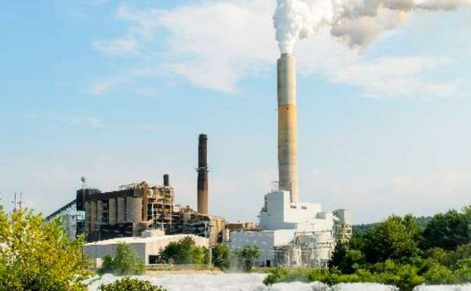 Stamford-based Castleton Commodities International and Greenwich-based Atlas Holdings' planned $175 million acquisition of a group of Eversource-owned fossil fuel facilities in New Hampshire includes the coal-based Merrimack Station in Bow. Photo: Eversource
