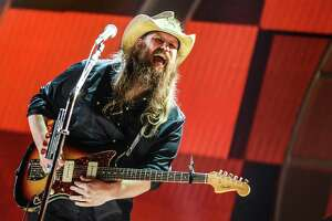 """Chris Stapleton  Grammy winner is the edgier, grittier side of country with his albums """"Traveller"""" and """"From a Room: Volume 1,"""" which offered up killer songs """"Nobody to Blame,"""" """"Tennessee Whiskey,"""" """"Whiskey and You,"""" """"Fire Away"""" and """"Either Way."""" The whiskey songs and low growl on electric guitar are a throwback to outlaw country from the days of Waylon and Willie and the boys. His tight combo includes his wife, singer Morgane Stapleton. Marty Stuart and Brent Cobb open.   7 p.m. Friday. AT&T Center, 1 AT&T Center Parkway at East Houston St. $35-$71. attcenter.com    -- Hector Saldana"""