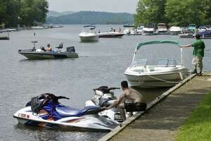 File photo of the Lattins Cove boat launch on Candlewood Lake.