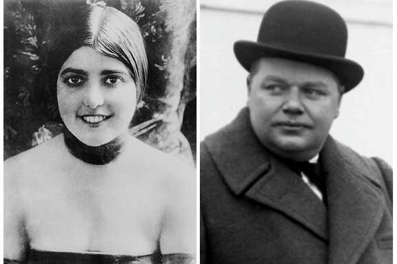 "Virginia Rappe and Roscoe ""Fatty"" Arbuckle"