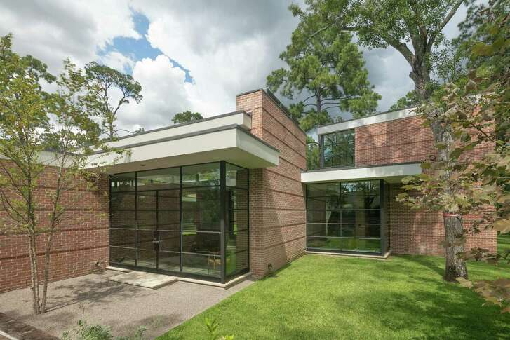 This home at 420 Oak Lane was designed by Dillon Kyle Architects. It is one of 10 homes featured on the 2017 AIA Houston Home Tour on Oct. 21-22, 2017.