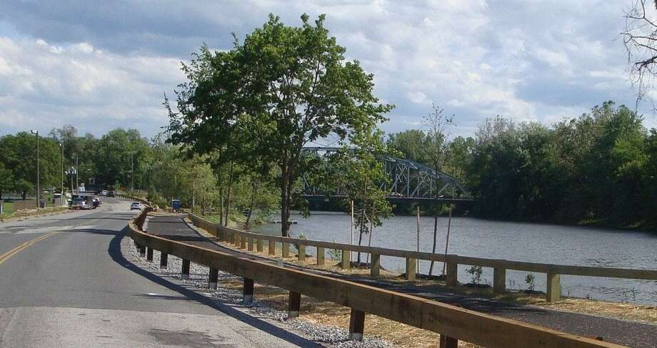 File photo of the New Milford River Trail. Courtesy of New Milford River Trail Association Photo: Contributed Photo / Contributed Photo / The News-Times Contributed