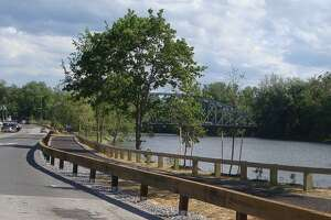 File photo of the New Milford River Trail. Courtesy of New Milford River Trail Association