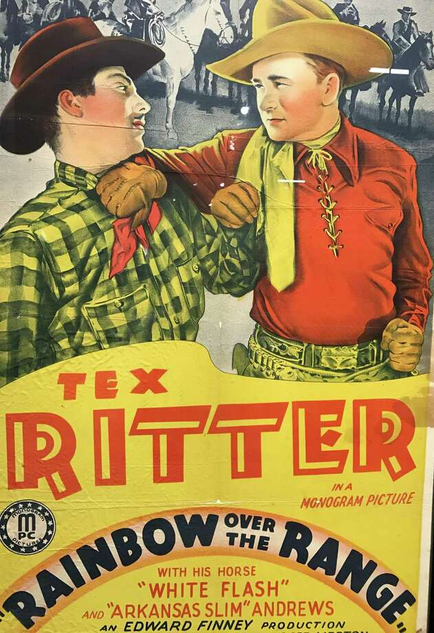 Singing cowboy Tex Ritter appeared in more than 70 B westerns from the 1930s through the 1960s. Photo: Joe Holley / Houston Chronicle