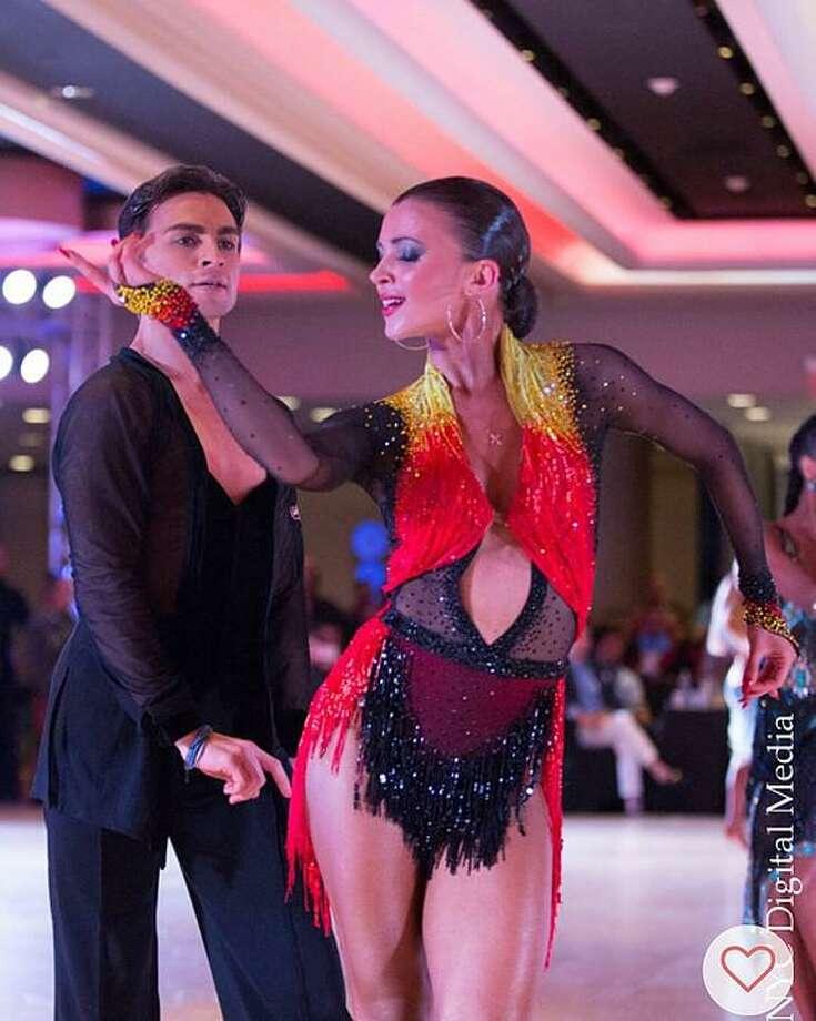 Dance couple Denys Drozdyuk and Antonina Skobina bring their passion for dance to Foxwoods on Oct. 20. Photo: Drozdyuk & Skobina / Contributed Photo