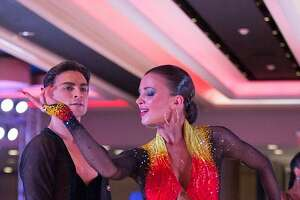 Dance couple Denys Drozdyuk and Antonina Skobina bring their passion for dance to Foxwoods on Oct. 20.