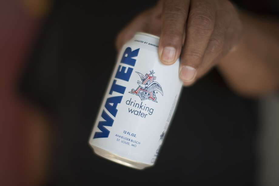 Anheuser-Busch company is donating thousands of cans of water to those affected by the Wine Country fires. Photo: (Photo By David McNew/Getty Images)
