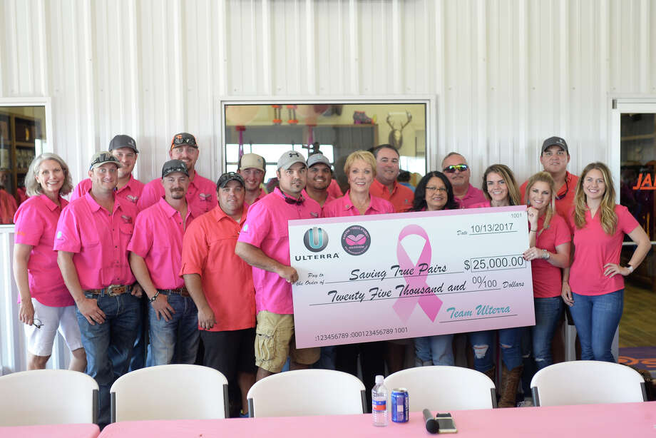 "Annual ""Saving True Pairs"" clay shoot to benefit Pink The Basin on Oct. 13, 2017, at Jake's Clays. The event raised more than $150,000 dollars. James Durbin/Reporter-Telegram Photo: James Durbin"